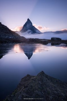 Matterhorn - One of the most famous mountain in the world, one of the highest summits in the Alps and Europe (4'478 metres / 14'692 ft).  This photo is the last I made during a stay of three days. I decided to start from the last photo, of the last look, of the last memory.... See you, see you!