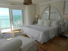 Beach Living at it;s best....Headboard from Posh on Palm Venice Florida