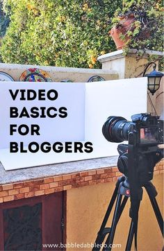 You can conquer video! Learn the basics of making simple videos to enhance your… Marketing Website, Marketing Online, Marketing Tools, Marketing Digital, Inbound Marketing, Social Media Marketing, Marketing Software, Marketing Ideas, Marketing Strategies