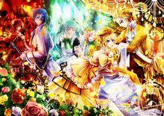 Story of Evil - Evillious Chronicles - Image - Zerochan Anime Image Board Evil Anime, Anime Angel, Servant Of Evil, Len Y Rin, Saga, Vocaloid Kaito, Rp Ideas, Mikuo, Harry Potter Anime
