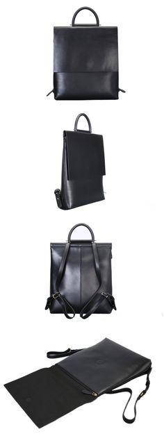 Handmade Leather Backpack Girl Backpack Casual Backpack