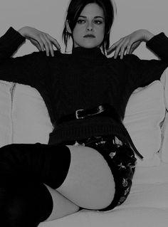 Kristen Stewart B&W