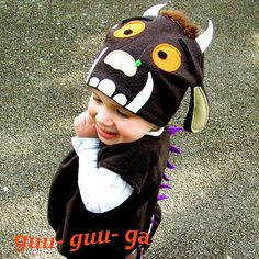 child+Monster+costume+brown+baby+toddler+by+GuuGuuGa+on+Etsy
