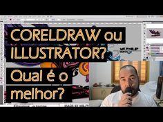 Coreldraw ou Illustrator ? Qual é o melhor? - W01 Cursos Online