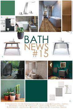 Inspiration Moodboard Bath News #15: Dornbracht, Moduleo, Vasco, Cosentino, Duravit