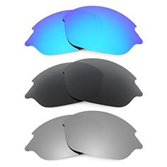 b58aeb99e36 Revant Replacement Lenses for Oakley Romeo 2 3 Pair Combo Pack K015 Review Replacement  Lenses