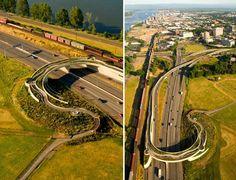 建筑中国网-美国:Vancouver Land桥-交通建筑