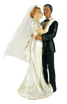 figurines des maris mariage mixte pour que votre gteau soit le plus beau installez - Figurine Mariage Mixte