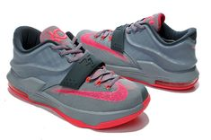 newest 885d7 c4d65 Big Boys KD 7 Calm Before the Storm Grey Hyper Punch Light Magnet Grey  653996 060