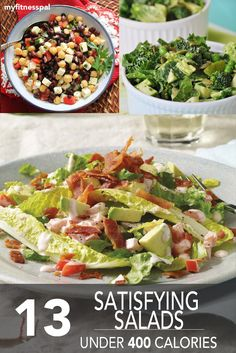 13 Satisfying Salads Under 400 Calories ‹ Hello Healthy