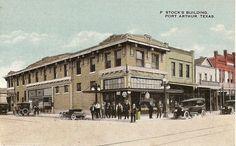 port arthur tx | Port Arthur Texas, 1920 - on a rare trip ashore that March, Bert found ...