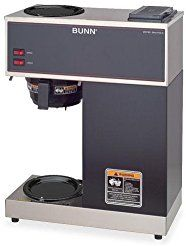 Christmas deals week VPR BUNN Pour-O-Matic Coffee Brewer - 2 quart - 12 Cup(s) - Stainless Steel