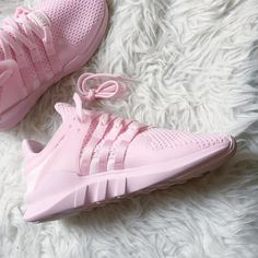 "unstablefragments2: "" The adidas EQT Support ADV 'Triple Pink' (via aleksandrags) """