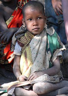 Meisje uit Tanzania