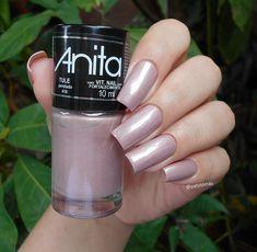 Pink Nails, Nail Colors, Manicure, Nail Designs, Nail Polish, Make Up, Nail Art, Glitter, Enamels