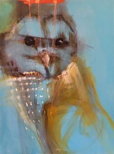 Rebecca Haines - Pippin Contemporary Santa Fe New Mexico Modern Art Paintings, Animal Paintings, Art Pictures, Art Images, Famous Impressionist Paintings, Oil Paintings, Southwest Art, Zen Art, Bird Art
