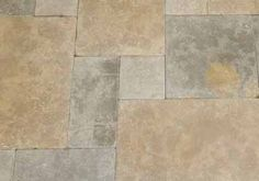 Beltile Dalle Bayadere French Limestone 4 Size Pattern Tiles - Pattern - BelTile Tile and Stone including Hexagon Tile and Subway Tile Grey And Beige, Beige Color, French Pattern, Italian Tiles, Hexagon Tiles, Color Tile, Stone Flooring, Travertine, Tile Patterns