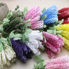 Find More Decorative Flowers & Wreaths Information about Muliti colors artificial Lavender Mini foam balls flower with green leaves Fake flowers for crown home decoration 50/lot,High Quality flowers ball,China flowers brooch Suppliers, Cheap flower girl dresses organza from YUGUO INDUSTRY AND TRADE LIMITED on Aliexpress.com