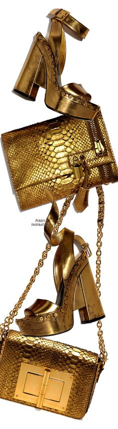 Metallic python with signature Tom Ford yellow golden hardware. Detachable thin…: The most popular Gucci pieces on the resale market. Fashion Handbags, Fashion Bags, Fashion Accessories, Bling Bling, Bags 2018, Gucci, Louis Vuitton, Gold Fashion, Shoe Game