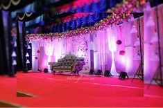 Wedding stage decoration at the ritz carlton bangalore wedding crystal wedding stage decoration in bangalore get quote for decorating your wedding stage across south junglespirit Image collections