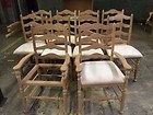 For Sale - 10 Stickley Cherry Ladder Back Chairs