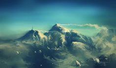 windy ridge by aerroscape on DeviantArt