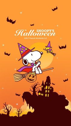 Snoopy Halloween, Halloween Night, Holidays Halloween, Happy Halloween, Baby Snoopy, Snoopy Love, Snoopy And Woodstock, Snoopy Wallpaper, Fall Wallpaper