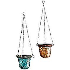 Mosaic Hanging Tealight Holders
