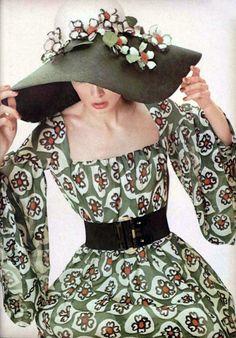 Christian Dior L'Officiel Magazine 1968