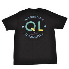 The Quiet Life - Garcia Logo Men's Shirt, Black - The Giant Peach - 1