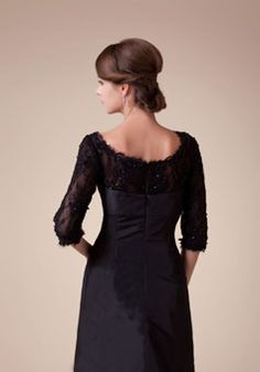 mother of the bride dress- tasteful, lace & chiffon