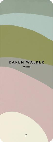 Karen Walker Paints - Palette 2