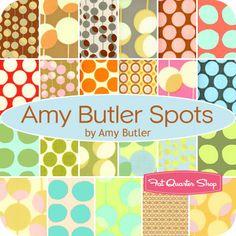 Amy Butler Spots Fat Quarter Bundle Amy Butler for Westminster Fibers - Fat Quarter Shop