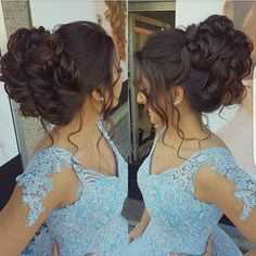 Gorgeous Chignon Wedding Hairstyle Tutorial Hair Tutorials is part of Quinceanera hairstyles - Wedding hair style Wedding Hairstyles Tutorial, Simple Wedding Hairstyles, Short Wedding Hair, Wedding Hair And Makeup, Bridal Hair, Hairstyle Tutorial, Wedding Hairdos, Quince Hairstyles, Fancy Hairstyles