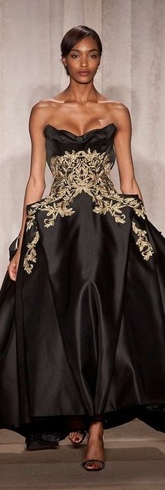 Marchesa F/W 2013 RTW - NYFW......need a talented seamstress to remake this in my size