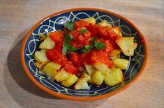 Ellouisa: Patatas bravas - Spaanse aardappeltjes met tomaten...