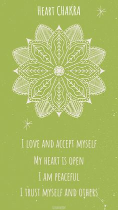 Anahata Chakra, Chakra Art, Sacral Chakra, Heart Chakra Healing, Heart Chakra Tattoo, Heart Chakra Meditation, Healing Affirmations, 7 Chakras, Journal Prompts
