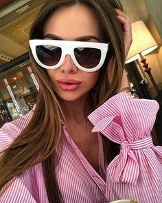45464faebae Eyewear Type  Sunglasses Item Type  Eyewear Gender  Women Department Name   Adult Frame Material  Acetate Lens Width  Lenses Material  Polycarbonate  Style  ...