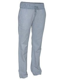 """• Loose fit beach pant with 33"""" inseam  • 100% Cotton  • BLK and BL01: 100% Viscose  • Encased ..."""