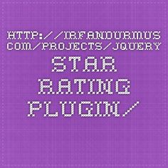 http://irfandurmus.com/projects/jquery-star-rating-plugin/