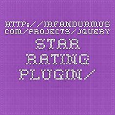 http://irfandurmus.com/projects/jquery-star-rating-plugin/