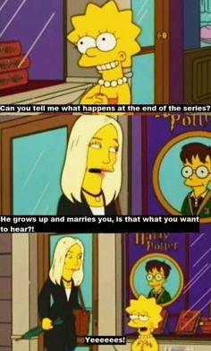 I'm so much like Lisa Simpson sometimes.
