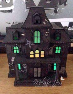 3D Halloween Haunted House