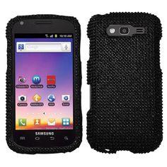 For T Mobile Samsung Galaxy s Blaze 4G Crystal Diamond Bling Case Cover Black | eBay
