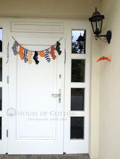 Halloween bat garland / Girlanda nietoperze
