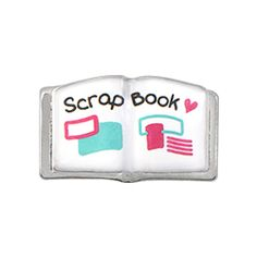If you spend your days scrolling through Pinterest looking for scrapbooking inspiration, then this Scrapbook Charm would fit perfectly inside your Living Locket. Pair this with the Silver Scissors Charm and flaunt your crafty side loud and proud.
