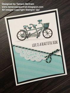 Tamara's Paper Trail: Pedal Pusher CASE with a Beautiful Ride Twist