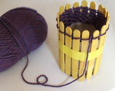 DIY Knitting Loom.