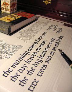 Lessons of calligraphy – Rotunda. by Marina Marjina, via Flickr
