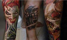 Featured Tattoo Artist: Dmitriy Samohin - https://twitter.com/mysicktattoos/status/564808039195103232